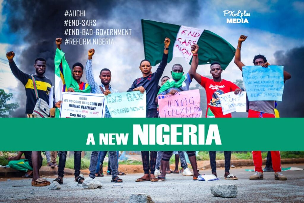 A NEW Nigerians #ENDSARS Protesters Demand As Thugs Disrupt Protests Across NIGERIA, Afrinotes