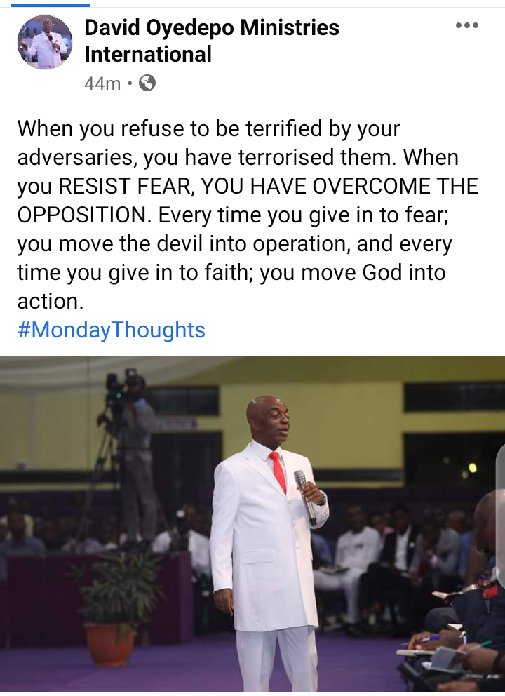 David-Oyedepo-To-Nigerians-RESIST-FEAR-YOU-HAVE-OVERCOME-THE-OPPOSITION