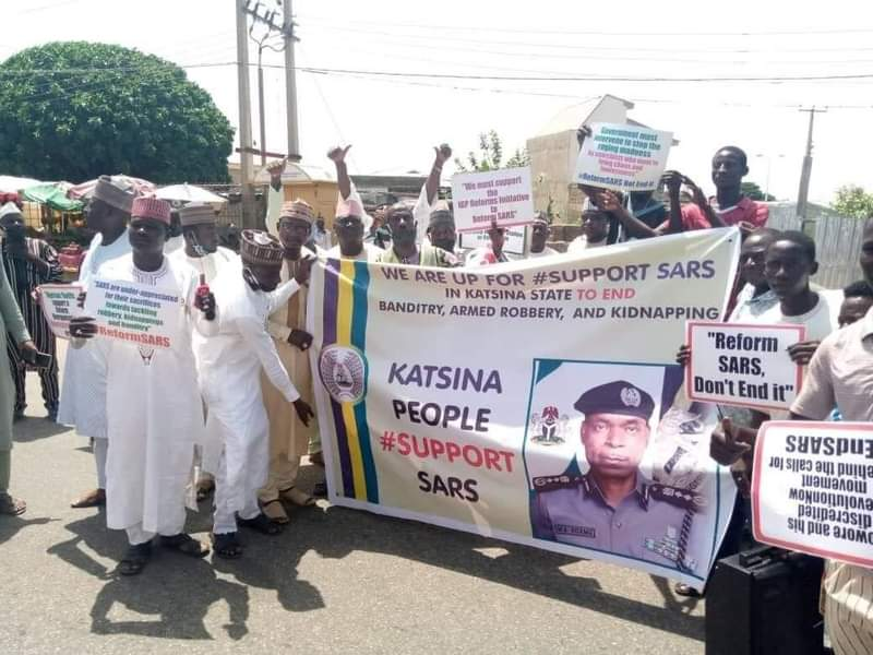 Katsina-Youths-Protest-Against-ENDSARs-Ask-Government-To-Reform-SARs