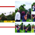 Billionaire Ned Nwoko Teaches Wife Regina Daniel How To Shoot Gun