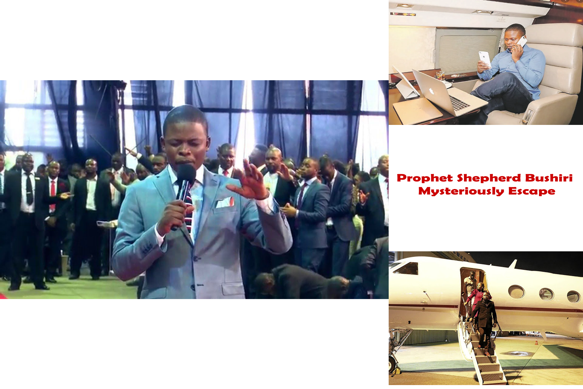 Prophet Shepherd Bushiri Mysteriously Escape From South Africa Ahead Of Fraud Trial