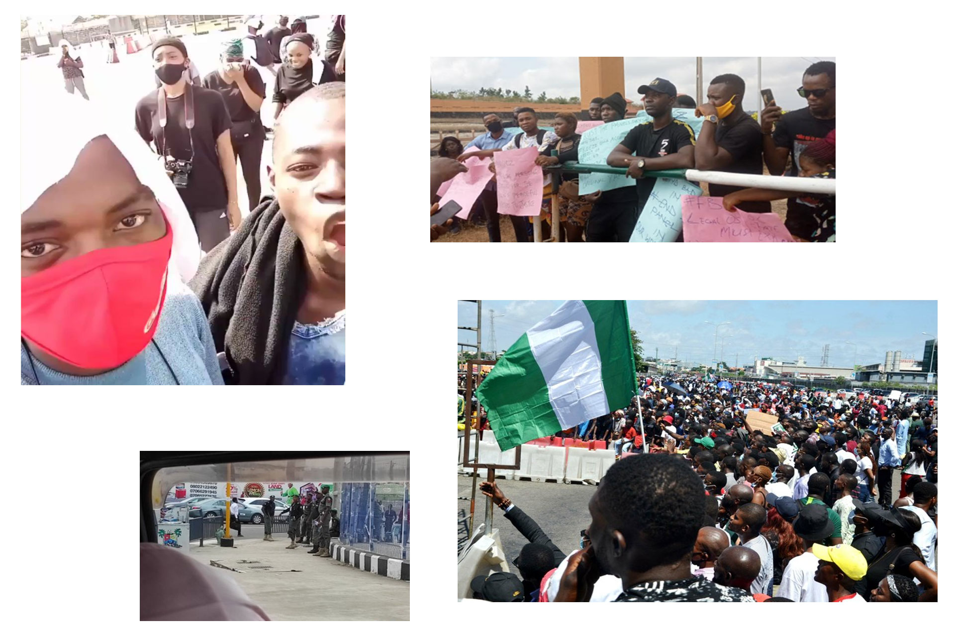 Fresh #EndSARS Protest Roam Across Nigeria, Hit Lagos and Osun State