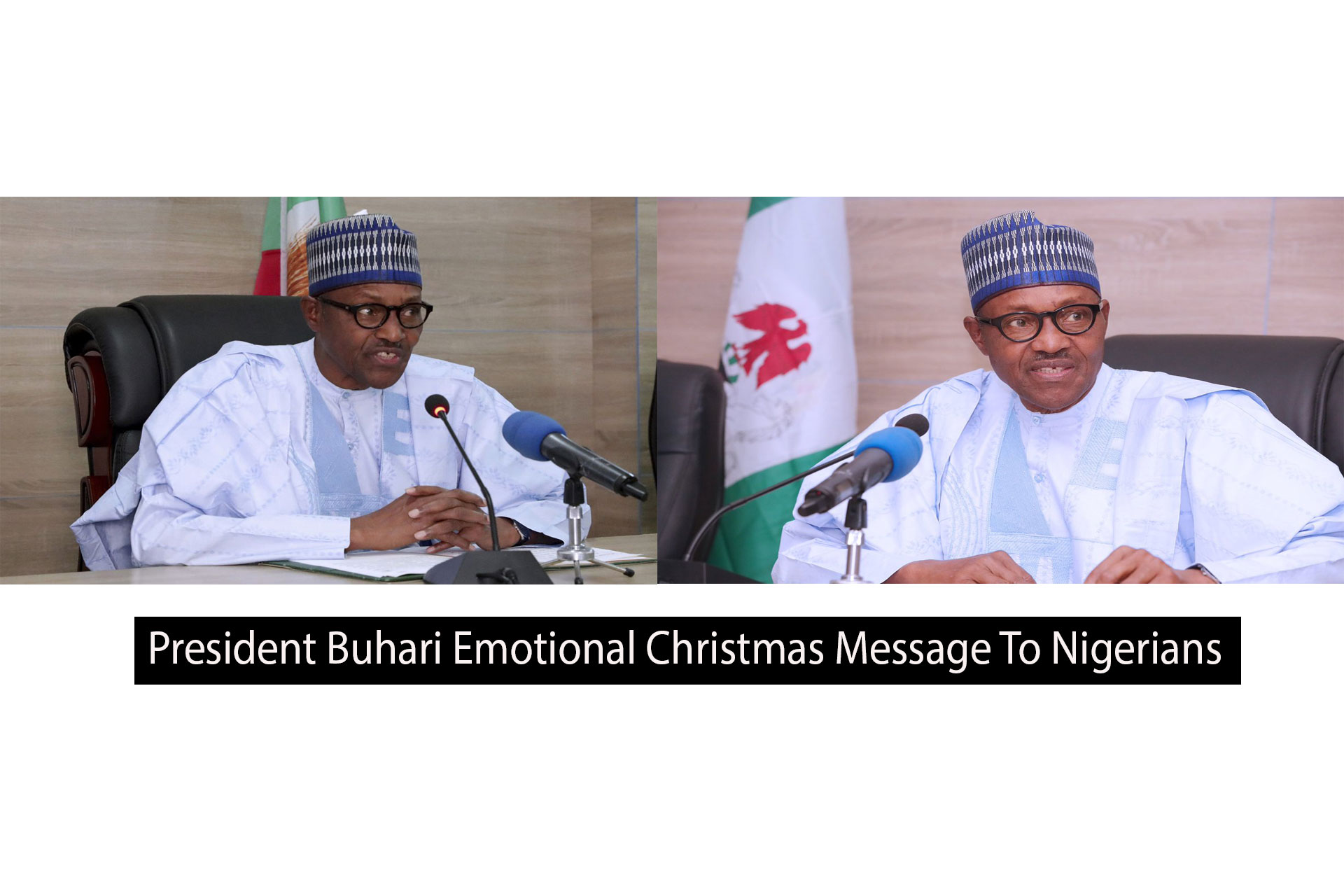 President Buhari Emotional Christmas Message To Nigerians Amid Insecurity and COVID 19. Afrinotes