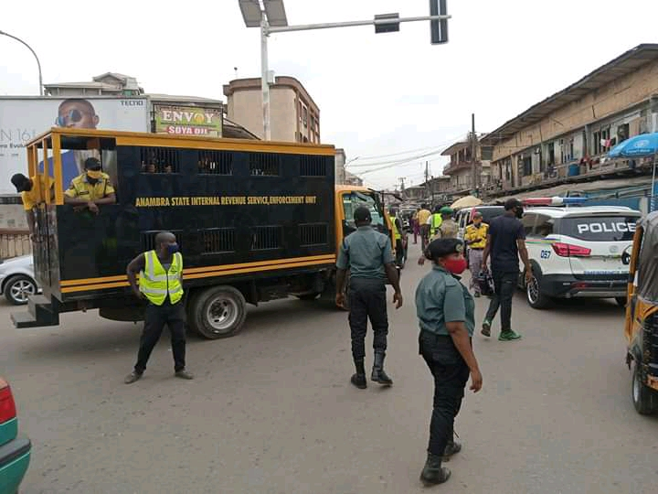 Anambra State Government Inforce Total Compliance Of Wear Face Mask, Arrest Defaulters