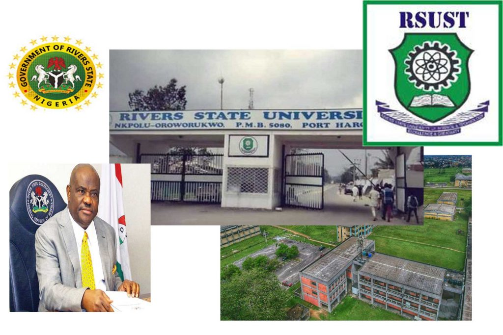 RIVERS STATE UNIVERSITY Rivers State Government To Build Three New Campuses