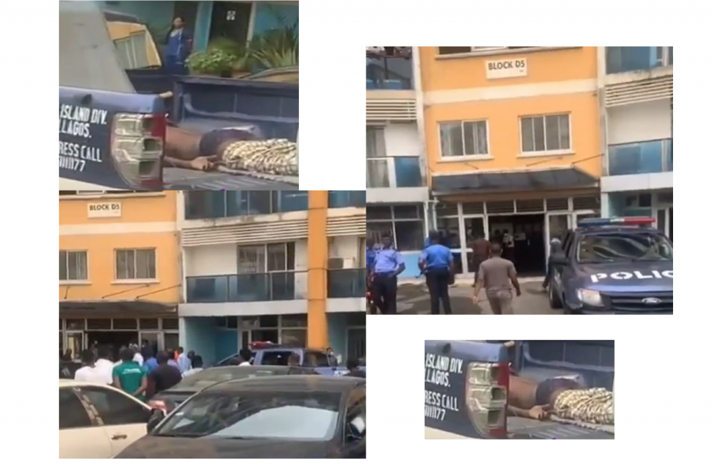 Suspected Yahoo Boy Jumps To His Death After EFCC Storms His Estate