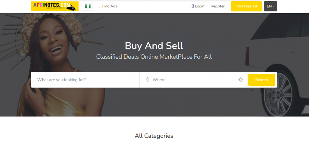 classified deals, AfriNOTES