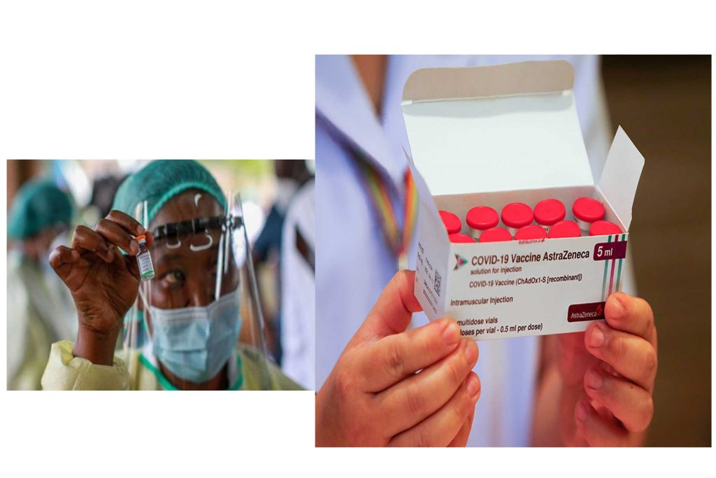 AstraZeneca Vaccine Rolled Out In Africa, Presidents, Governors, Kings Get Vaccinated