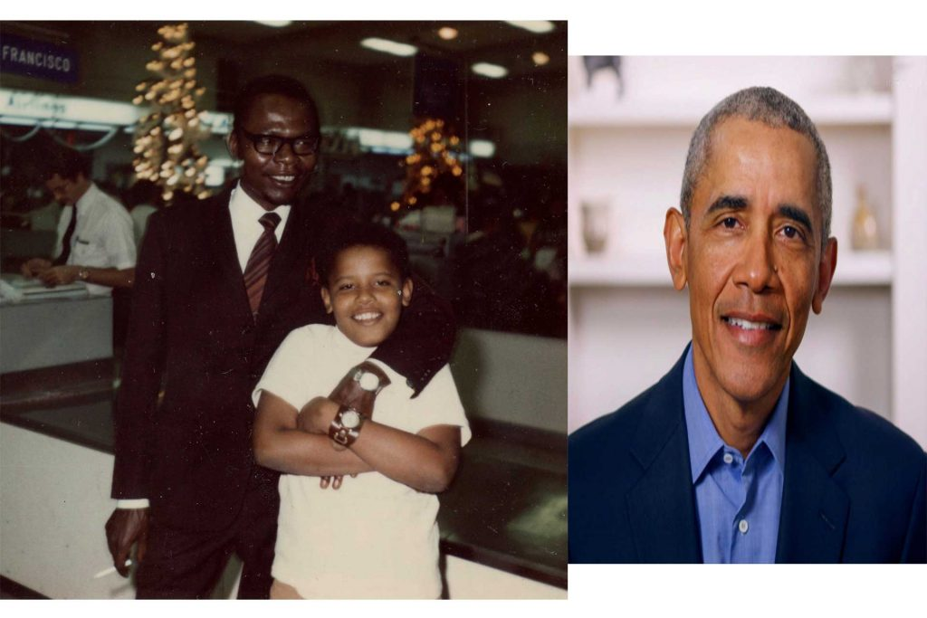 I Don't Know My Father, He Left My Mother And Me When I Was 2 Years, Barack Obama
