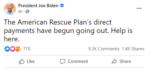 Passed The American Rescue Plan