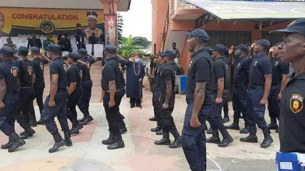 Nnewi Security Outfit Launched, Shares the Same Uniform With ESN PHOTONEWS 2