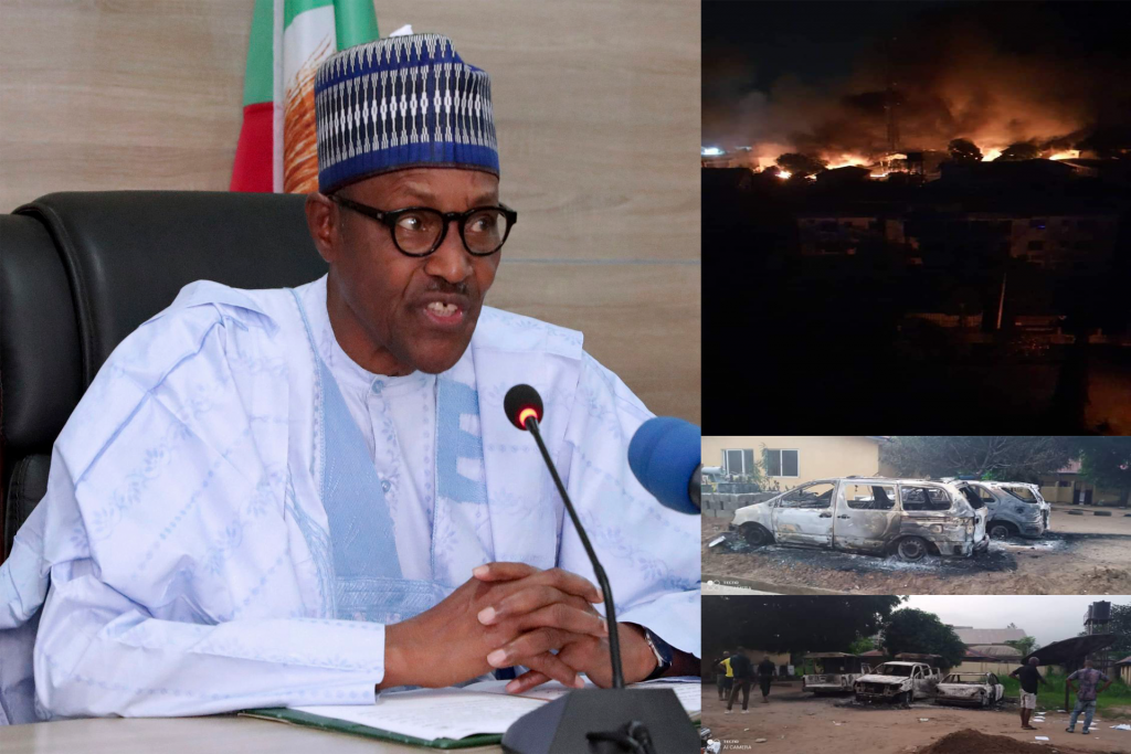 President Buhari Condemns Attack In Imo State