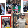 Reno Omokri Leads Harass Buhari Our Of London Protest Live In London