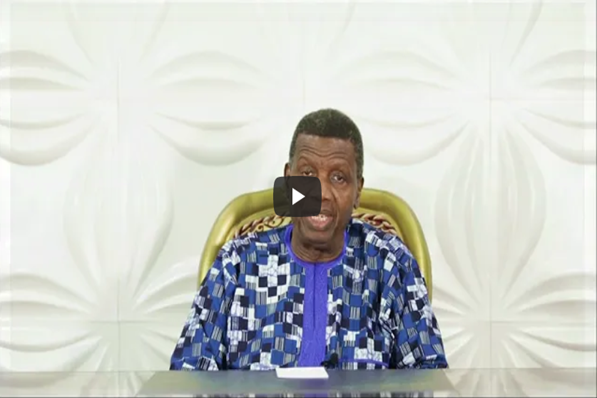 A General but we didn't lose God PASTOR E. A. ADEBOYE