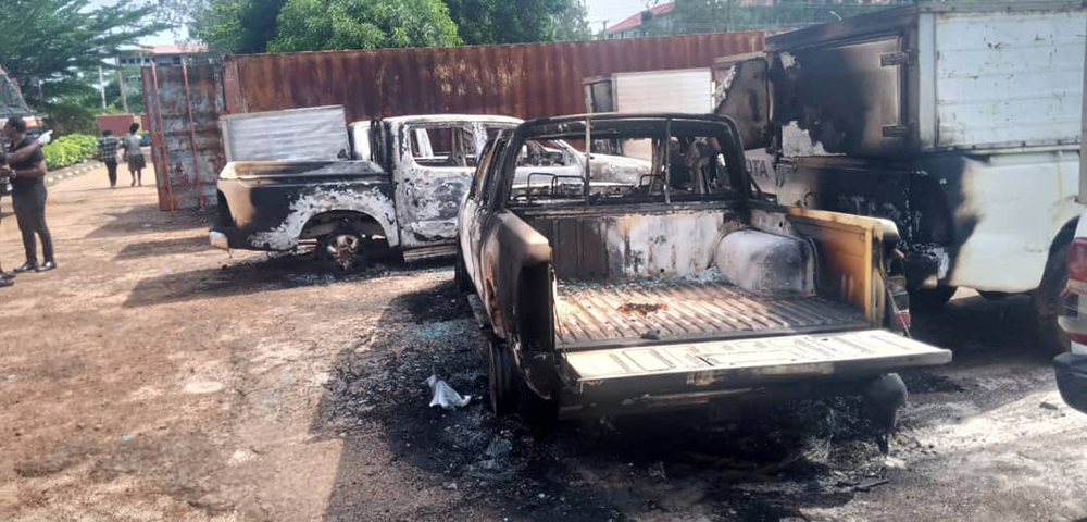 B-Division-police-station-attacked-by-Gunmen-in-Awka-Anambra,-1