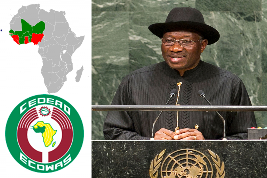 Goodluck Jonathan gets a new appointment in ECOWAS