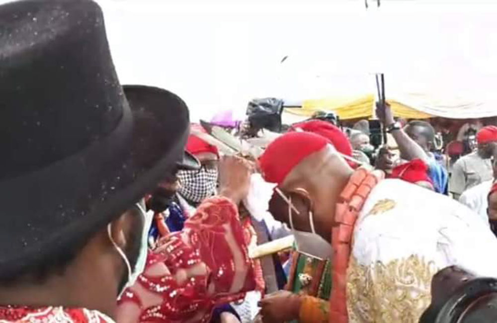 Gov-Wike-Visit-To-Ogoniland-Accorded-The-Highest-Traditional-Honour-4