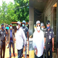 Governor Obiano Finally visit the police B Division and INEC Headquarters Attacked by gunmen