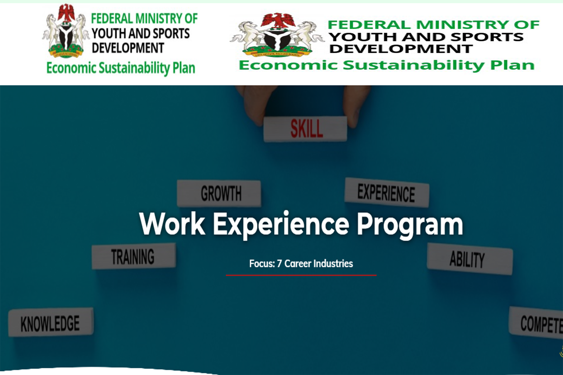 How To Apply For The Federal Ministry Of Youth And Sports Development