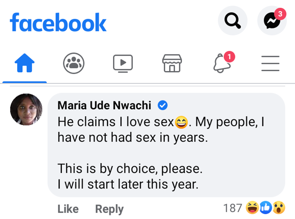 I have not had sex in years