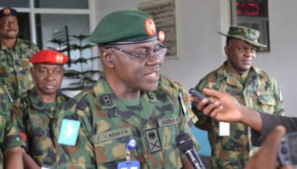 Major General Farouk Yahaya Appointed The New Chief Of Army Staff
