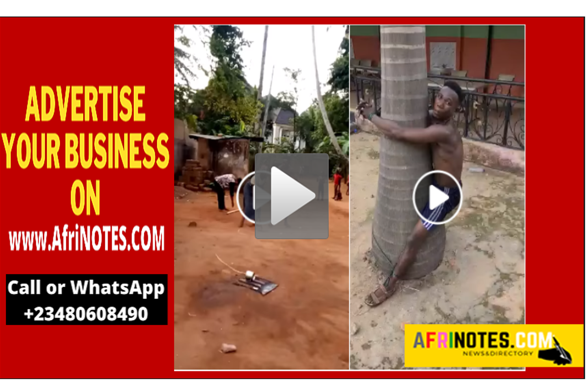 Man receives 100 strokes of cane In Anambra for beating a woman mercilessly