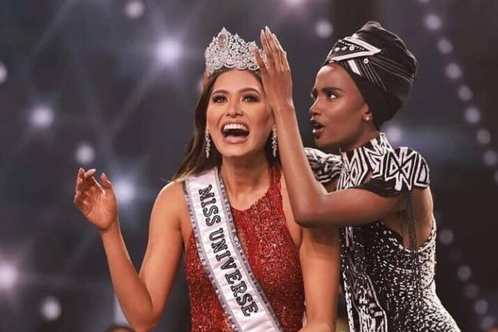 Miss Mexico ANDREA MEZA CROWNED MISS UNIVERSE