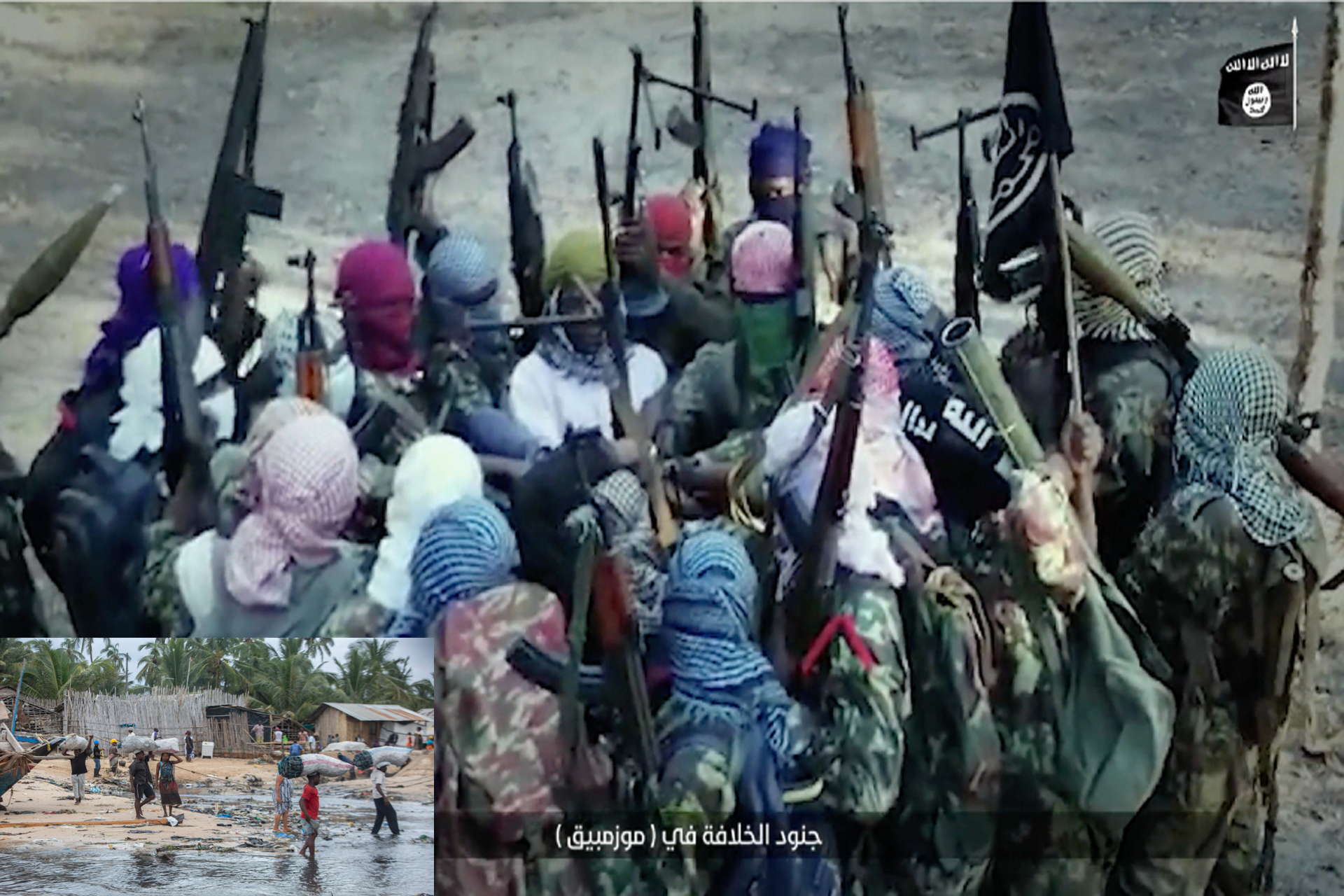 Mozambique is in crisis as ISIS terrorists brutally killed, raped, maimed, and abducted civilians