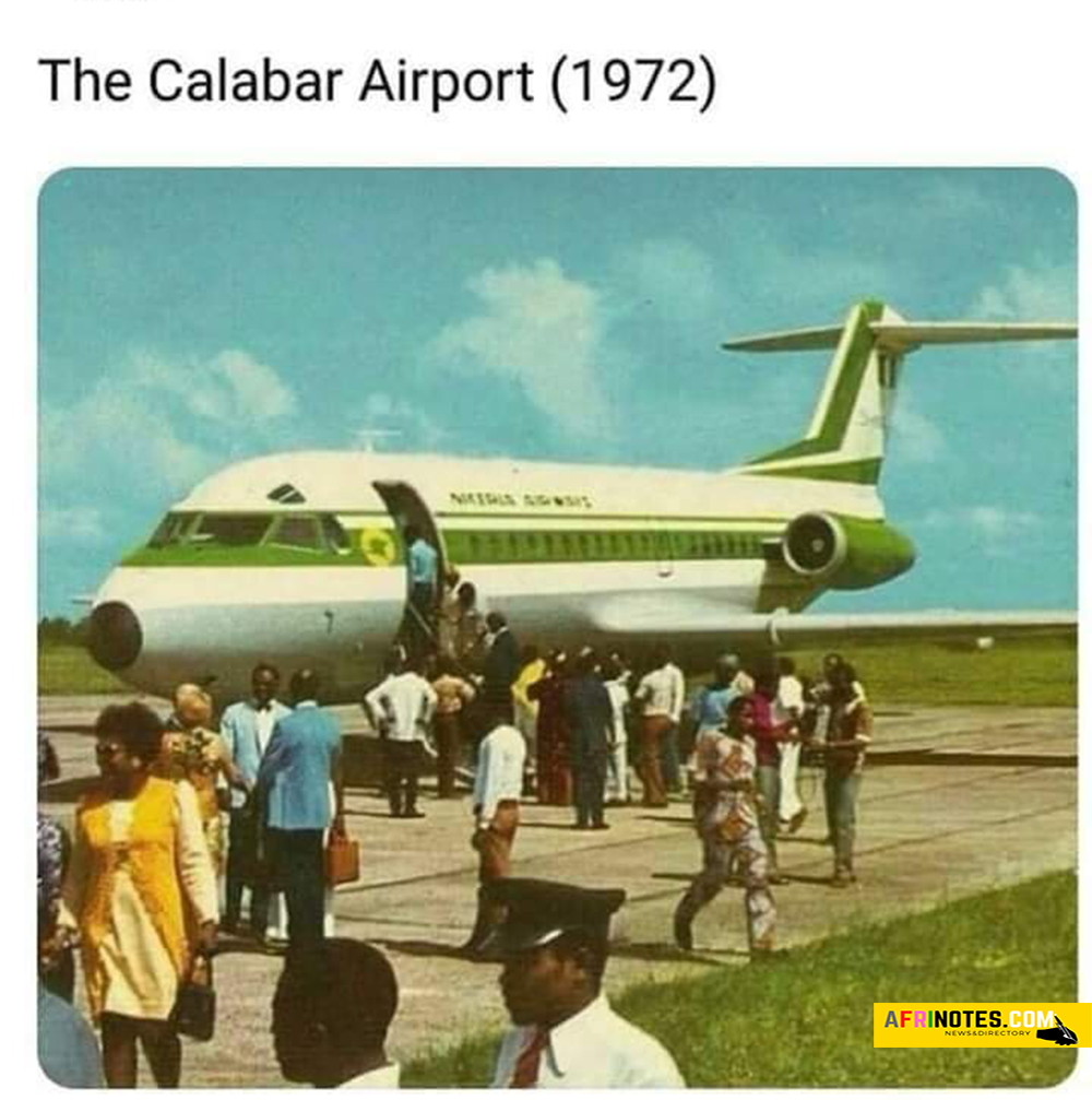 The Calabar Airport in 1972