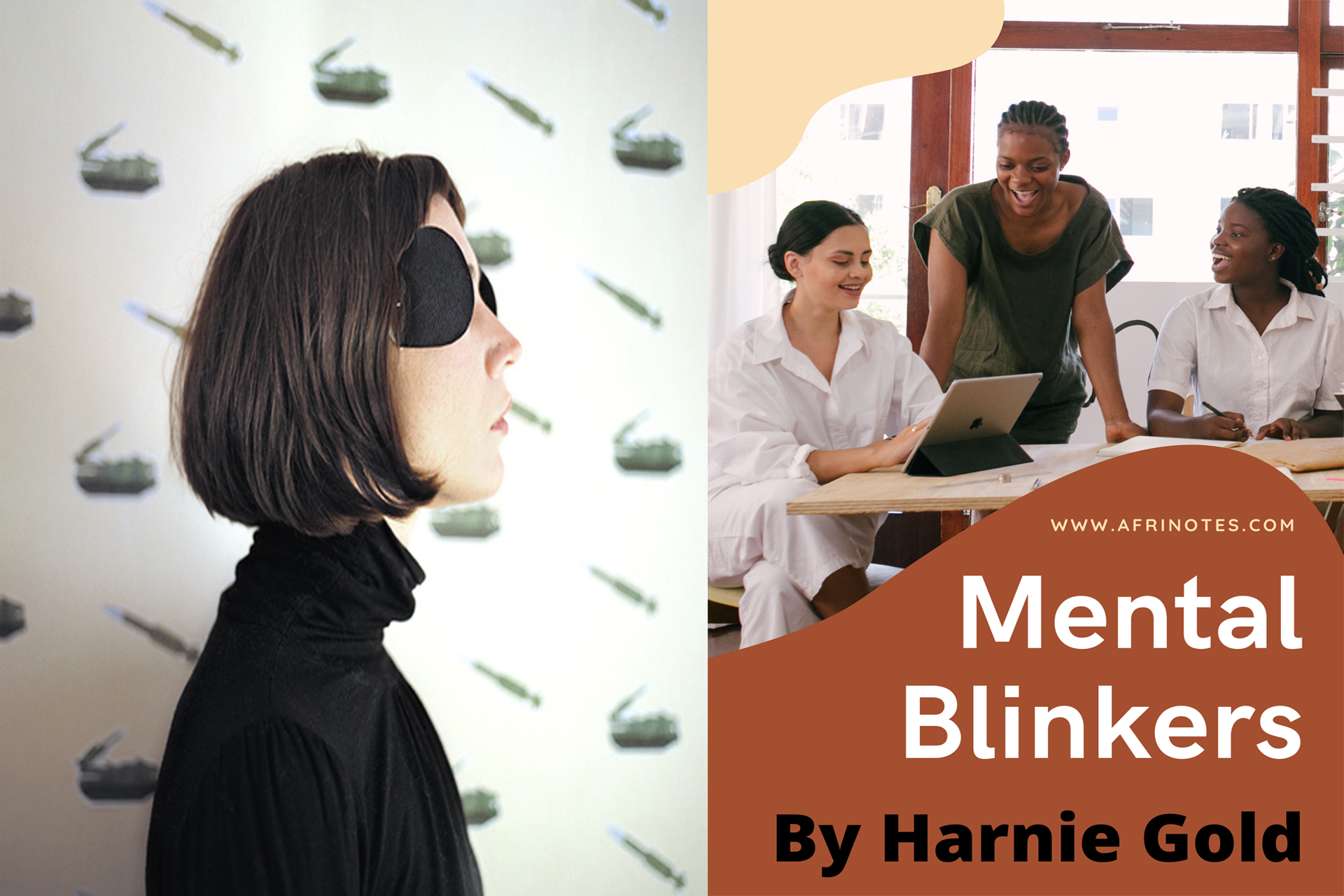 Mental Blinkers, By Harnie Gold