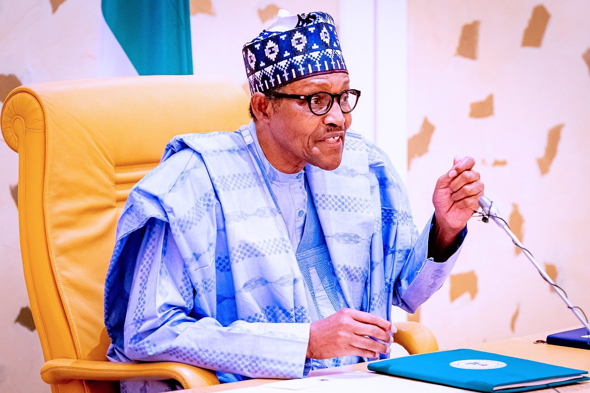 President Buhari Democracy day speech amidst protest in the country
