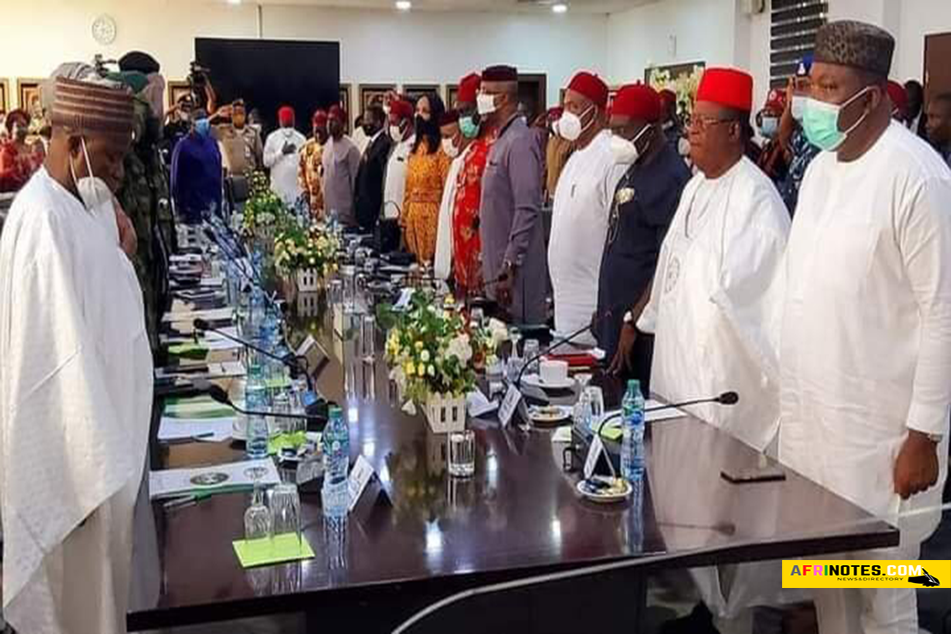 Southeast-Governors-and-community-Leaders-Reject-Agitation-for-Biafra-Secession,-featured