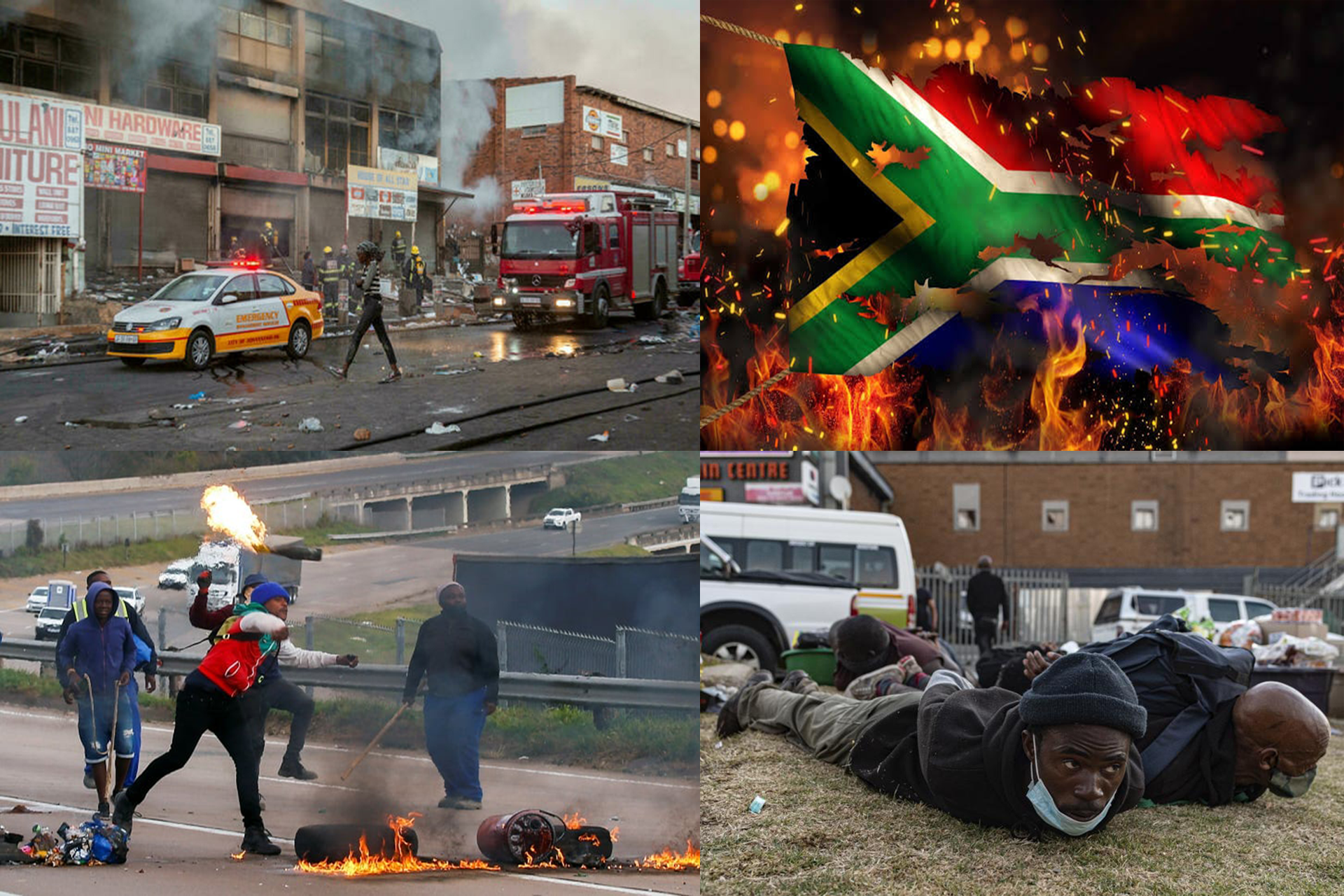 South Africa on FIRE for Jailing former President Jacob Zuma