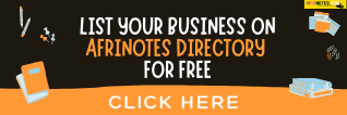 List Your Business Live On Afrinotes Directory